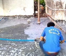 东莞商住中心天面裂缝渗漏防水补漏维修