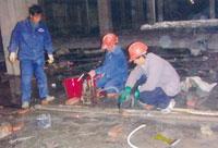 东莞小区水泵房堵漏