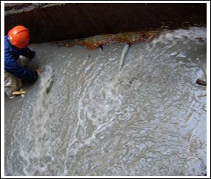 水池防水补漏