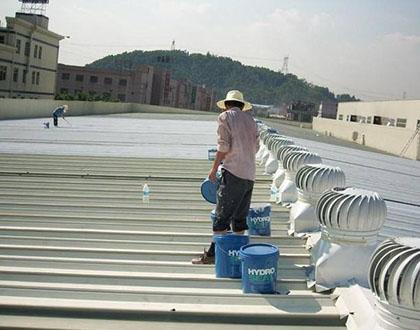 东莞金属屋面防水补漏施工