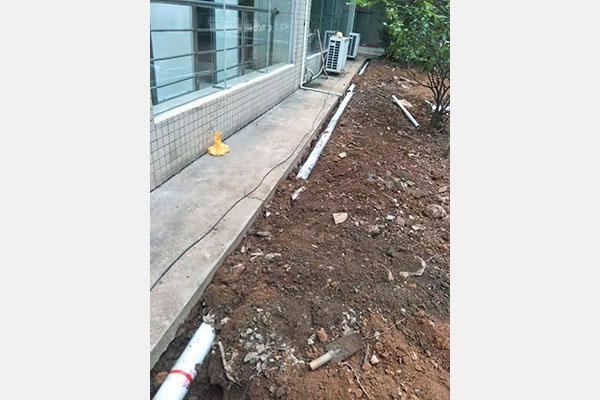 常虎管理中心排水管改造工程